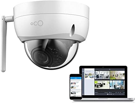 Amazon.com: Cámara de seguridad Oco Pro Dome v2 WIFI ...