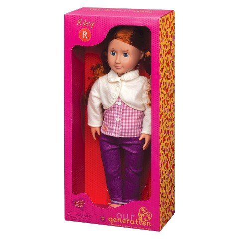"Battat Our Generation Riley 18"" Doll"