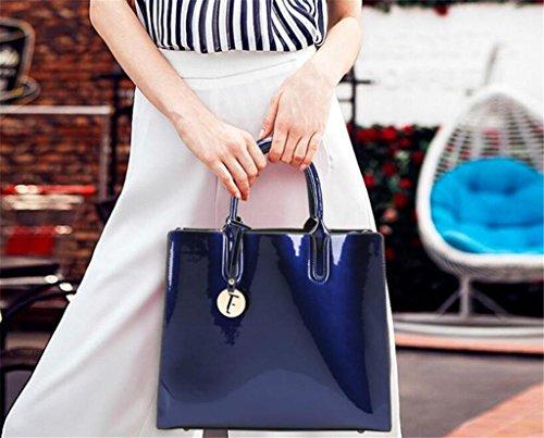 della da borsa NVBAO grande capacità della da signora spalla di brillante sposa blue Borsa borsa singola Borsa borsa qUgXxUwz7