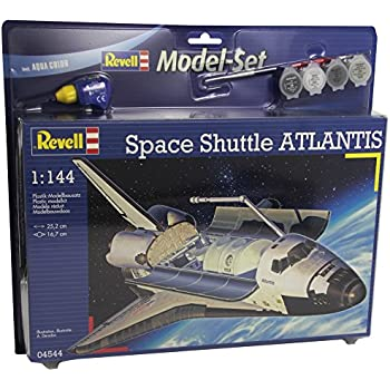 revell germany space shuttle atlantis model kit - photo #8