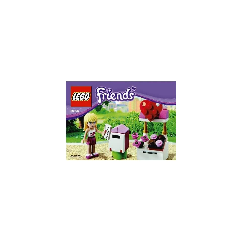 LEGO Friends Exclusive Set #30105 Stephanies Mailbox Bagged  Toys