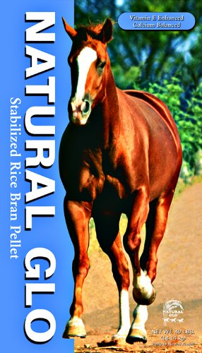 MANNA PRO-NATURAL GLO 05-0400-2140 NG Rice Bran Pellets