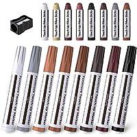 17 Pack Houten Meubels Reparatie Kit Touch Up Pen Reparatie Kleurpotloden Markers Sticks Floor Tafel Deur Kast Werkblad…
