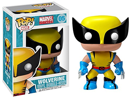 Funko Pop! Marvel Wolverine Vinyl Figure Bundled with Free Pop BOX PROTECTOR CASE
