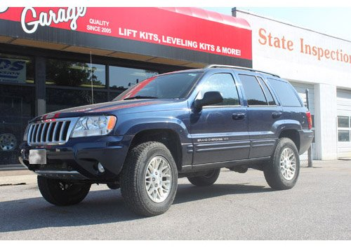 Amazoncom Jeep Grand Cherokee Wj 2 Front 2 Rear Complete Lift