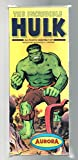 Aurora Plastics 1966 Assembly Kit #421-129 The Incredible Hulk Scale Model Instructions En Francais