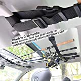 iMunir Vehicle Fishing Rod Rack,Car Fishing Rod