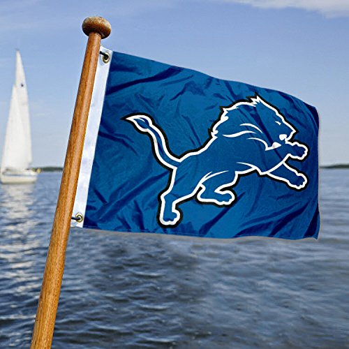 WinCraft Detroit Lions Boat and Golf Cart Flag