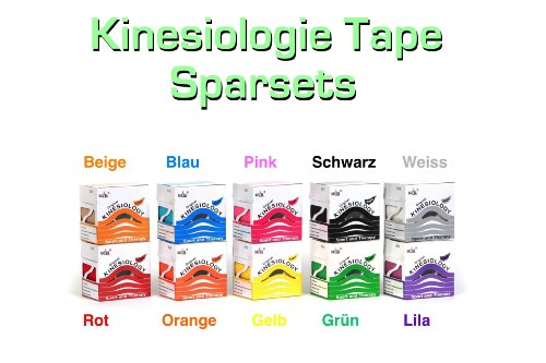 12er Pack Nasara Kinesiologisches Tape