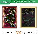 "Hosim LED Message Writing Board, 24"" x"