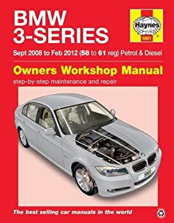 BMW 3-Series (Sept 08 To Feb 12) ...