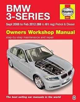 bmw 3 series sept 08 to feb 12 haynes repair manual amazon co uk rh amazon co uk Auto Repair Manuals Online Online Repair Manuals