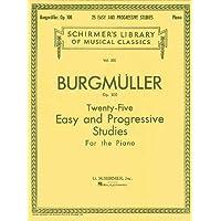 Twenty-Five Easy and Progressive Studies for the Piano, Op. 100: Complete