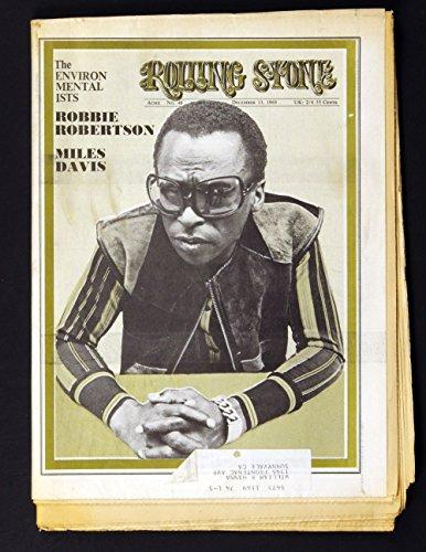 Rolling Stone Magazine No. 48 Miles Davis 1969 Dec 13