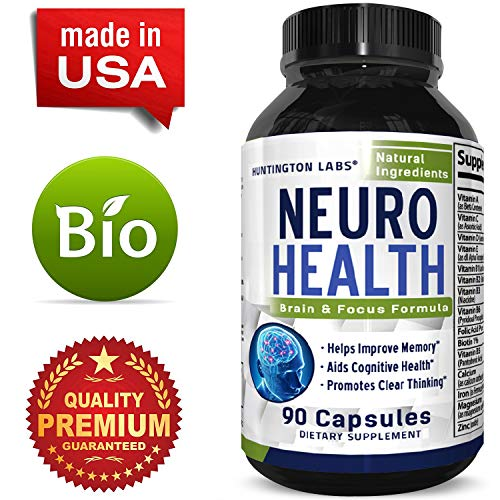 - Mind Enhancement Supplement Natural Nootropic Pills for Men and Women Boost Focus Clarity Improve Memory Reduce Forgetfulness Anti Aging Cognitive Enhancement 90 Capsules by Huntington Labs
