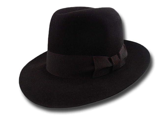 ed2f3cbe5f7536 Amazon.com: Fedora Dillinger public enemies Vintage Hat: Handmade