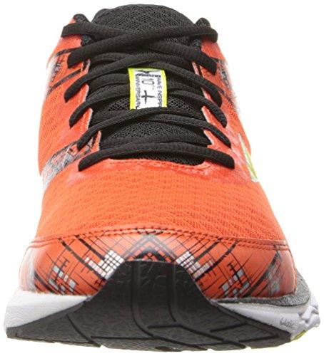 Black Spring Tango Mizuno Men's Sulfur 10 Inspire Shoe Wave Running Tangerine AF7vS