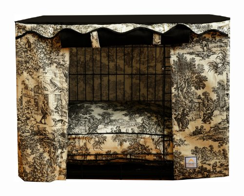 BOWHAUSNYC Toile Crate Cover, Small (Fabric Designer Toile)