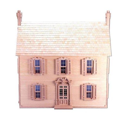 Willow Dollhouse Kit - Greenleaf Willow Dollhouse Kit - 1 Inch Scale by Greenleaf Billiards