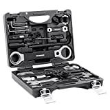 Best Value Professional Bicycle Tool Kit - IRONARM Professional Tool Kit. Good Bicycle Repair Tools, Wrench, Chain, Spanner, Allen Key Set and more.
