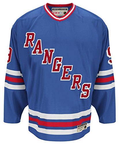 New York Rangers Wayne Gretzky Authentic Heroes of Hockey Jersey ()