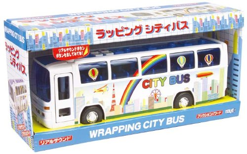 Sound&Friction Wrapping City Bus by TOIKOH