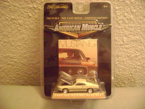 Ertl Collectibles American Muscle 1969 Mustang Mach -