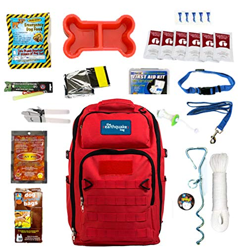 Complete Emergency Bag for Dogs - Keep Your pet Safe at Home and on The - Survival Kit Pet