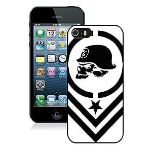 Fashionable metal mulisha iPhone 5 5s 5th Generation Case in Black