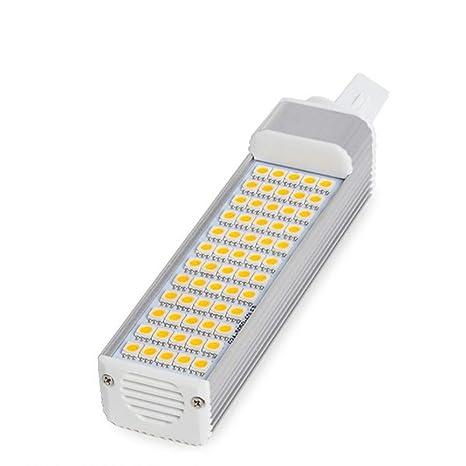Greenice | Bombilla de LEDs G23 60 X SMD5050 12W 1000Lm 30.000H | Blanco Cálido