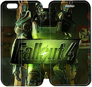 Flip Folio Leather Case for iPhone 6 4.7 inch Cell Phone Case Fallout 4 HPM4612669