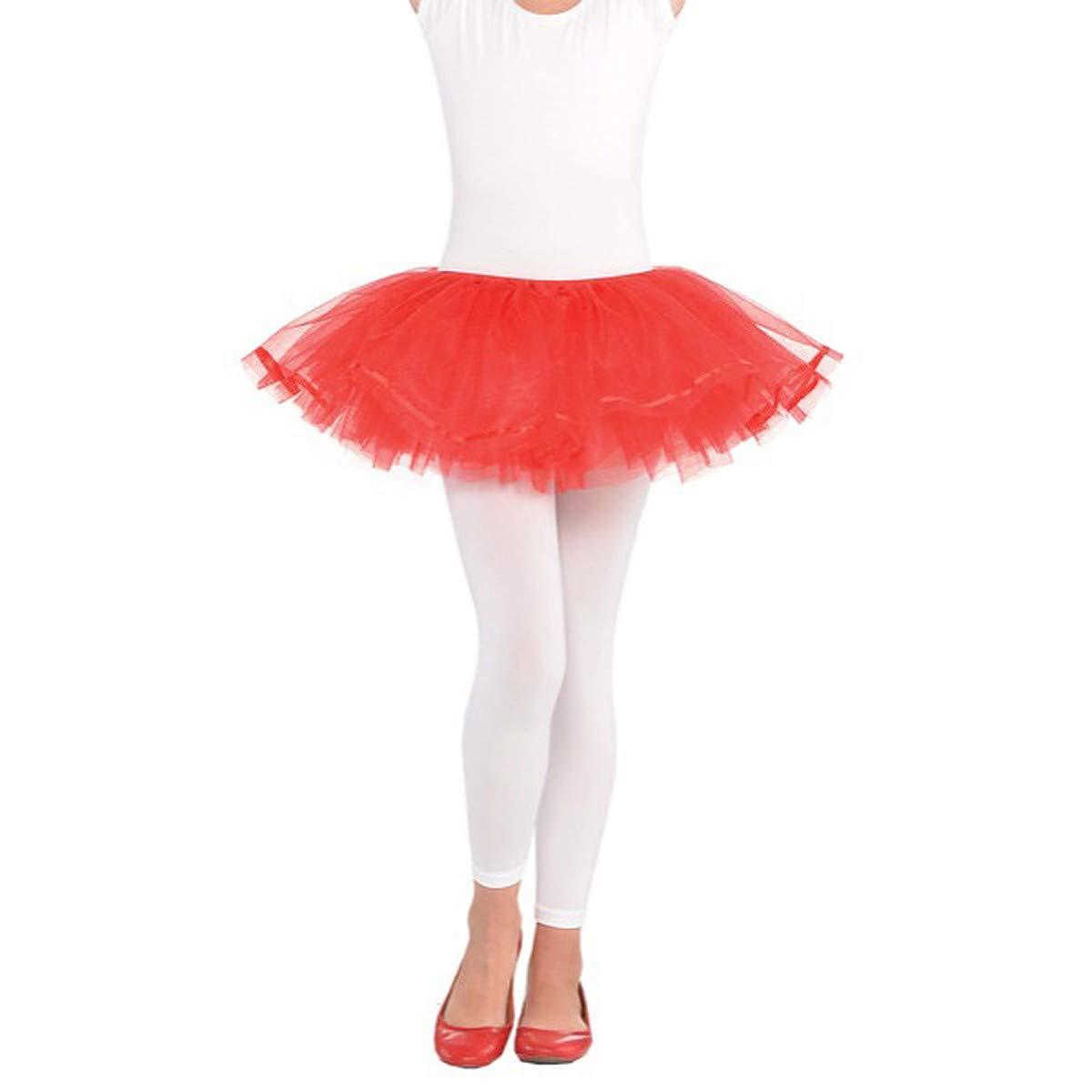 Child S//M 3 Ct. Red Shimmer Tutu