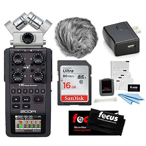 order Kit w/Windbuster, AD-17 AC Adapter & 16GB Memory Card ()