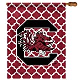 NCAA South Carolina Gamecocks Quatre Foil House Flag