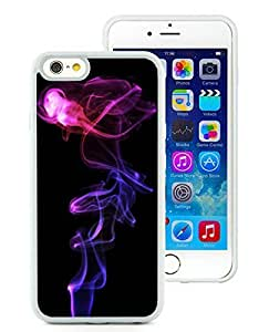New Design smoke White High Quality iPhone 6 4.7 Inch Rubber TPU Phone Case