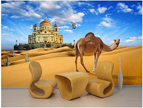 Zsexdr Custom 3d Wallpaper The Silk Road Mirage Camel