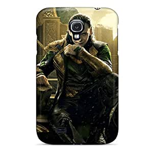 Cute Tpu CloudTown Loki In Thor 2 Case Cover For Galaxy S4