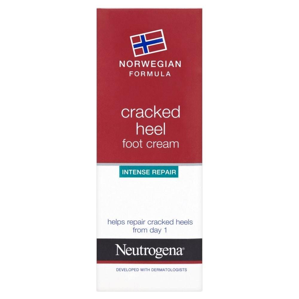 Neutrogena Norwegian Formula Cracked Heel Foot Cream (40ml) - Pack of 6