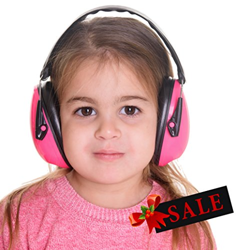 Hearing Protection for Kids, Earmuffs : Keep Toddlers Ears Safe. Absolute Noise Cancelling Headphones. Baby, Toddler & Infant Airplane Ear Muffs, Sound Blocking Earphones