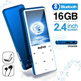 Best MP3 Players - MYMAHDI MP3 Player with Bluetooth 4.2, Touch Buttons Review