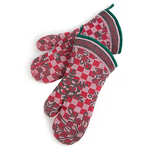 MacKenzie-Childs 'Tis the Season Oven Mitts - Set of 2 by MacKenzie-Childs