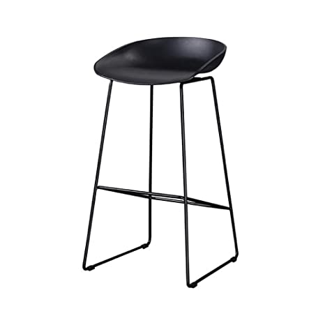 Admirable Amazon Com Lklxj Bar Chair Black Counter Chairs Metal Alphanode Cool Chair Designs And Ideas Alphanodeonline