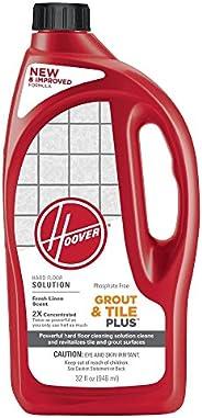 HOOVER FloorMate Grout & Tile Plus Hard Floor Cleaning Solution Formula, 32 oz, AH3