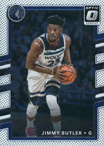 (2017-18 Donruss Optic #86 Jimmy Butler Minnesota Timberwolves Basketball Card)
