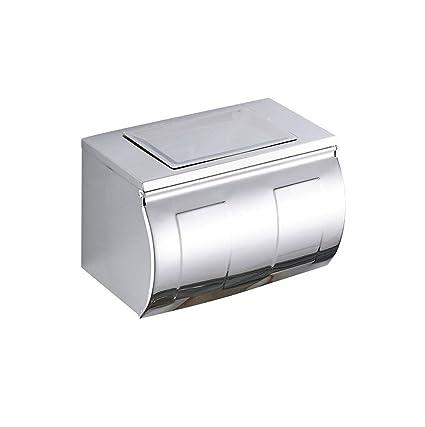 Amazoncom Toilet Paper Holder Stainless Steel Waterproof Recessed