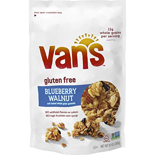 Van's Simply Delicious Gluten-Free Soft and Chewy Granola, Blueberry Walnut, 10 ()