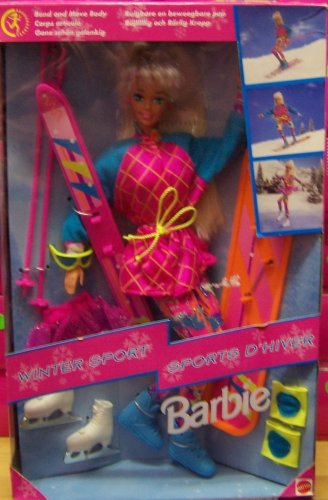 Review Winter Sport BARBIE Doll