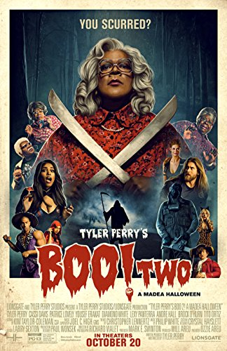 Tyler Perry's Boo 2! A Madea Halloween Movie Poster Limited Print Photo Tyler Perry, Cassi Davis, Patrice Lovely Size 8x10 #1