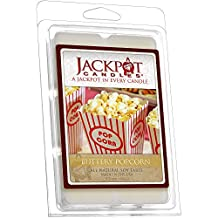 Buttery Popcorn Wax Tart Melts with Ring Inside (Surprise Jewelry Valued at $15 to $5,000) Ring Size 8