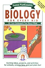 Janice VanCleave's Biology For Every Kid: 101 Easy Experiments That Really Work (Science for Every Kid Series Book 131) Kindle Edition
